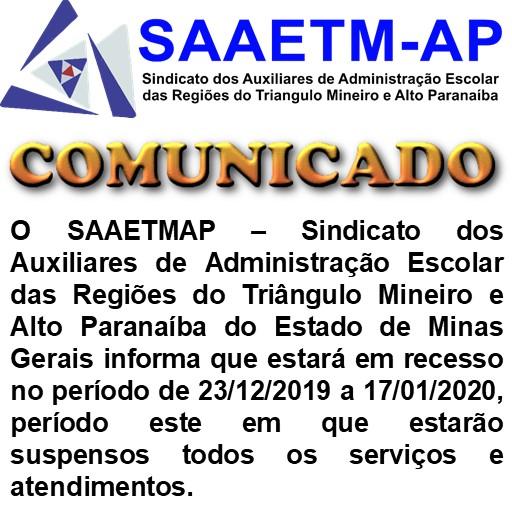 RECESSO 2019-20